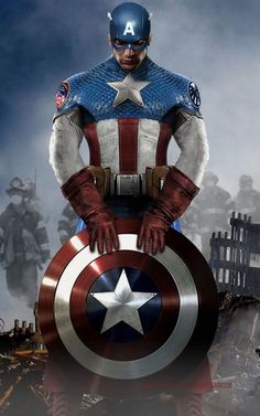 Avengers Costume Redesigns (Particularly Captain - Part 1 Marvel Dc Comics, Marvel Art, Marvel Heroes, Marvel Avengers, Capitan America Marvel, Captain America Logo, Captain America Wallpaper, Captain America Costume, Wallpaper Animé