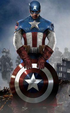 Avengers Costume Redesigns (Particularly Captain - Part 1 Marvel Dc Comics, Marvel Art, Marvel Heroes, Captain Marvel, Marvel Avengers, Capitan America Marvel, Captain America Logo, Captain America Wallpaper, Wallpaper Animé