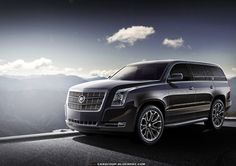 2014 Cadillac Escalade... I think I want this..