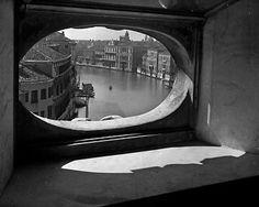 "Francesco Ferruccio Leiss - Le Grand Canal, 1945. Via   ::: wood s lot ::: ""the fitful tracing of a portal"""