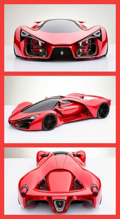 """super cars most expensive luxury yachts"" Ferrari F80 Supercar by Adriano Raeli"