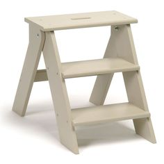 No kitchen is complete without a step ladder and this one does it in style - Garden Trading Step Stool - Clay £95 from Amara.