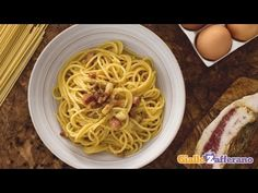 Spaghetti Carbonara - Only 4 Ingredients (Recipe & Video) - EverybodyLovesItalian.com