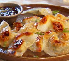 Pot Sticker Dumplings & Soy-Vinegar Sauce... Happy Hour Appetizers 9 | Hampton Roads Happy Hour