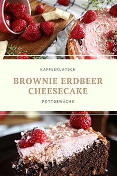 Es ist Erdbeerzeit und was passt besser als ein Brownie-Erdbeer-Cheesecake. Einfach lecker und vor allem frischt und saftig!