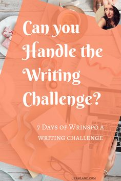 writing prompts and inspiration for writers & authors. 7 Days of Wrinspo is an email sequence challenge that uses beat sheets to get your first act perfect and keep you inspired. - Jean Lane