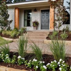 Fresh Landscaping at Gaspar Home