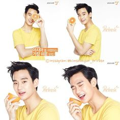 cool Kim Soo Hyun - Updates from the different campaigns (12/10/2015)