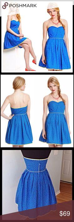 - #shortsundress - ... Blue Polka Dots, Polka Dot Print, Casual Summer Dresses, Short Dresses, Short Sundress, Retro Shorts, Retro Summer, Plus Size Party Dresses, Lassi