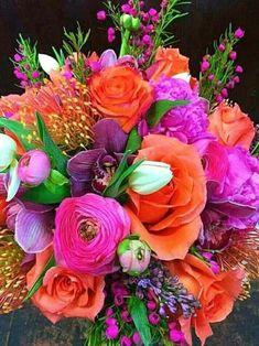 exotic plants and flowers Beautiful Flower Arrangements, Floral Arrangements, Ikebana, Types Of Flowers, Beautiful Flowers, Deco Floral, Exotic Flowers, Exotic Plants, Tropical Flowers