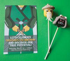 Lego Ninja Warrior Ninjago Inspired Birthday Party