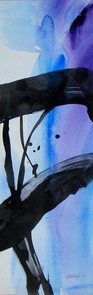 SOUL DANCE 12 ... Original LARGE Contemporary art by Kathy Morton Stanion