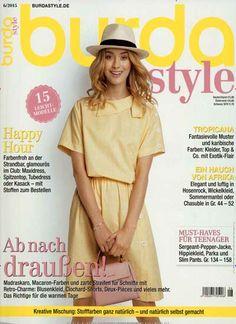 Ab nach draußen! Gefunden in: burda Style, Nr. 6/2015