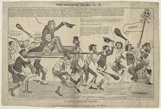 Election Cartoons, Georgian, 18th, History, Life, Historia, Georgian Language