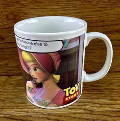 Disney Toy Story woody bo peep Cup Mug Staffordshire England Tableware kids New Bo Peep, Disney Toys, Woody, Toy Story, Peeps, England, Mugs, Tableware, Ebay