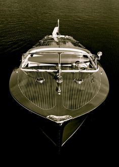 """1958 Riva Tritone """"Via"""" Hull no. 62 Ordered new by Prince Rainier III and Grace Kelly. RM Auctions, Monaco I know it's not a car but damn it's nice. Riva Boot, Model Auto, Riva Yachts, Wooden Speed Boats, Classic Wooden Boats, Classic Boat, Chris Craft Boats, Vintage Boats, Float Your Boat"""