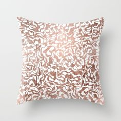 Buy Stylish rose gold geometric modern pattern Throw Pillow by Girly Trend. Worldwide shipping available at Society6.com. Just one of millions of high quality products available.