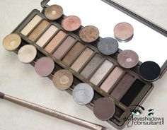 MAC Dupes for Urban Decay's Naked2 Palette