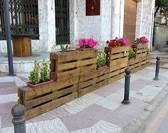 wood pallet planters