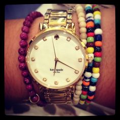 New Kate Spade watch #obsessed