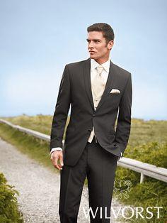 2011 After Six Wilvorst Charcoal Suit