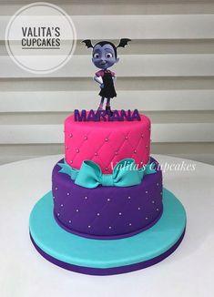 Las tortas más originales para cumpleaños de Vampirina | Tarjetas Imprimibles 2 Birthday Cake, 6th Birthday Parties, Third Birthday, Unicorn Birthday, Baby Birthday, Birthday Ideas, Party Cakes, First Birthdays, Cata