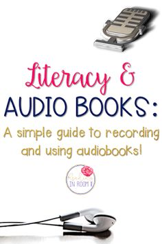 Audio books are a great way to enhance literacy instruction.  Check out four easy and helpful ways to incorporate them in your classroom.  You can also learn how to make and share your very own audio book.  Click to learn more!