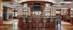 Linger Longer Bar  at The Ritz-Carlton Lodge, Reynolds Plantation — the name says it all.