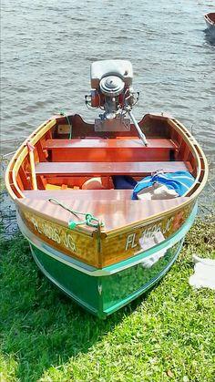 Stauter Built Boat @ Sunnyland Wooden Boat Show 2015...