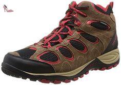 merrell hilltop ventilator mid wtpf chaussures de randonnee montantes homme marron brown