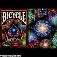 Bicycle Fireworks Playing Cards