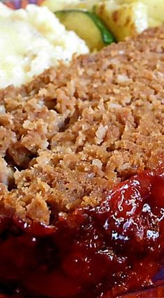 Amish Meatloaf ❊                                                                                                                                                                                 More