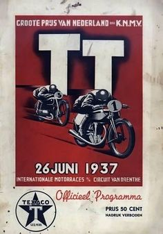 1937 Bike Poster, Motorcycle Posters, Poster Ads, Car Posters, Motorcycle Art, Bike Art, Event Posters, Vintage Racing, Vintage Ads