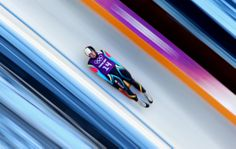 Valentin Cretu of Romania takes part in a men's luge training session ahead of the Sochi 2014 Winter Olympics at the Sanki Sliding Center on February 2014 in Sochi, Russia. Get premium, high resolution news photos at Getty Images Olympic Sports, Olympic Athletes, Olympic Games, Snowboarding, Skiing, Luge, Winter Games, Winter Olympics, Russia