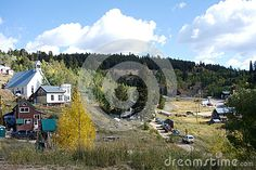 Photo about A distant shot of the rustic small down town of Ward village in the mountains of Colorado. Image of hill, village, shot - 79568600 State Of Colorado, Mount Rainier, Beautiful Landscapes, Shots, Rustic, Stock Photos, Mountains, Travel, Image