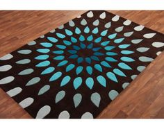 Brown Teal, Brown Rug, Teal Rug, Grey Rugs, Lounge Ideas, My House, Future  House, Loft House, Exterior Design