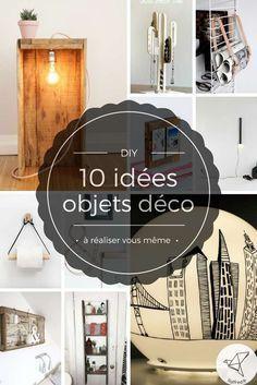 10 idées d'objets de déco recyclés DIY
