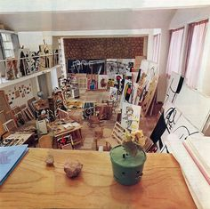 Miro. Now that's what I call a studio space, Celtsun.