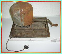HUTMACHER Maschine Weitemaschine um 1930, mit Heizspirale, Hüte weiten, Filzhut