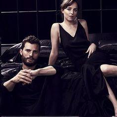 Jamie Dornan e Dakota Johnson Promoshoot 50 Sfumature di Nero | 50 Sfumature Italia