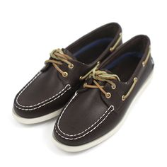 Sperry Womens A/O Brown Leather thank you Andrew for buying me these loveeeede