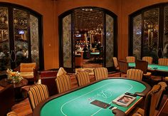 Neal plays poker at the Bellagio. (Chapter 12)