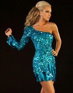 One Shoulder Cocktail Dress, Mac Duggal Homecoming Dress-PromGirl