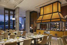 "The Ritz-Carlton, Pune, India - dpa lighting consultants - ""Right Light, Right Place, Right Time"" ™ #dpalighting #lightingdesign #hotellighting #restaurantlighting #walllights #downlights #tablelamps"