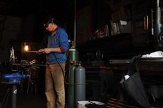 WELDING Jamie is the builders at Metrofiets - care, dedication and expertise go into every cargo bike we build.