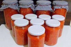 KENDİ MUTFAĞINDA ŞEF adlı okurumuzun gönderdiği Kışlık domates sos tarifi...