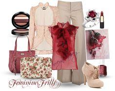 """""""Feminine Frills"""" by arreyn-grey on Polyvore"""