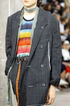 See detail photos for Lanvin Spring 2017 Menswear collection.