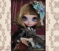 [§§ ~ fairy Doll ~ §§] † Custom Blythe †  Buy her here:   #blythe #blythedolls #kawaii #cute #rinkya #japan #collectibles #neoblythe #customblythe