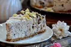 łatwy sernik nazimno straciatella Banana Bread, Food And Drink, Sweets, Cakes, Fit, Good Stocking Stuffers, Shape, Candy, Food Cakes